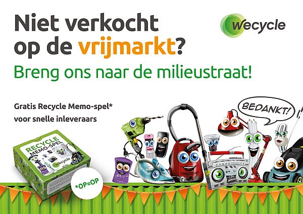 Wecycle page